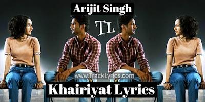 khairiyat-lyrics
