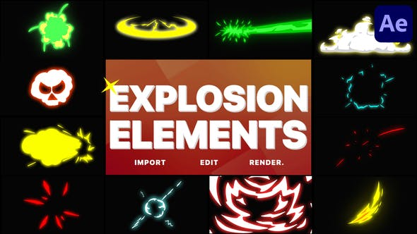 Explosion Elements[Videohive][After Effect][29001474]