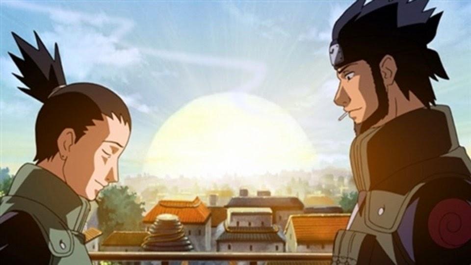 Shikamaru y Asuma