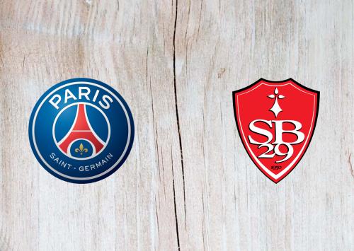 PSG vs Brest -Highlights 09 January 2021