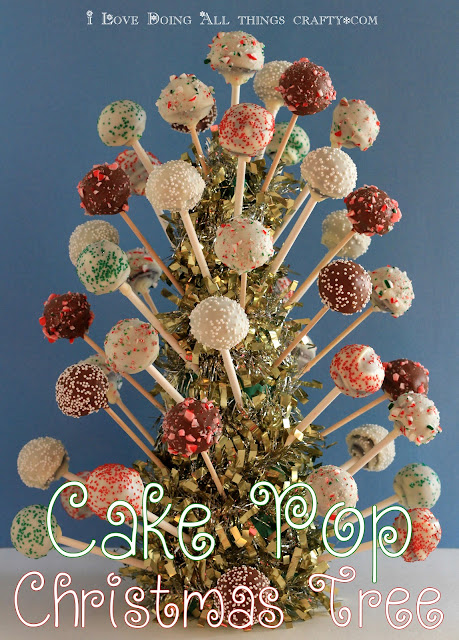 Cake Pop Christmas Tree and Treats for School