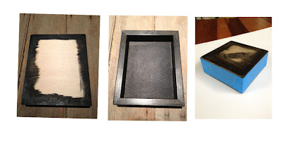Here On Earth Tutorial Mounting Prints To Cradled Wood