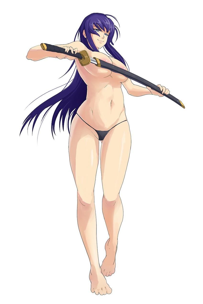 gambar hentai karakter anime toket gede busujima saeko. gambar porno animasi payudara gede,pamer memek