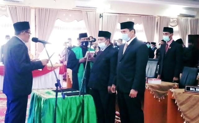Hadiri PAW Anggota DPRD, Adib Alfikri Harapkan Kerjasama Eksekutif dan Legislatif