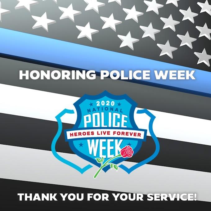 Celebrating National Police Week 2020