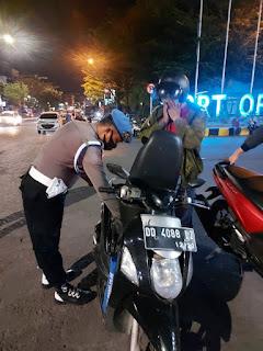 Amankan Pilkada Serentak 2020, Polres Pelabuhan Makassar Gencar Operasi Cipkon