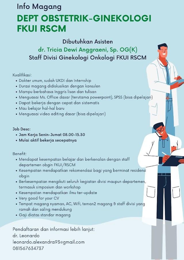 Info Magang Departemen Obstetrik-Ginekologi FKUI RSCM