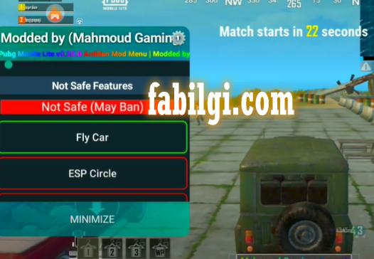 Pubg Mobile Lite Mahmoud Menu ESP Wallhack Hile İndir 2021
