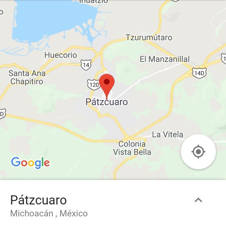 Pátzcuaro é uma cidade encantadora. A tradução do seu nome é
