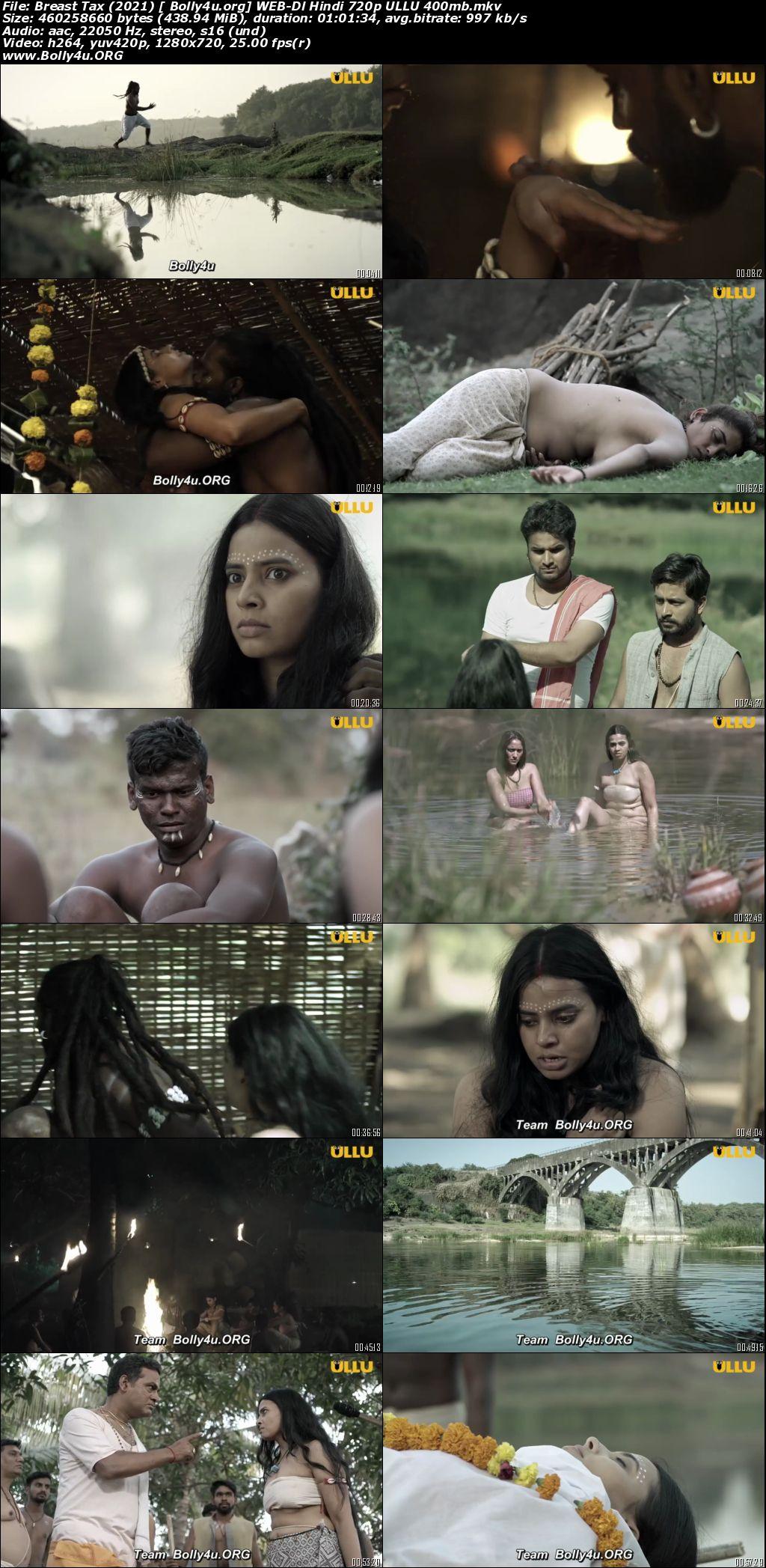 Breast Tax 2021 WEB-DL 400Mb Hindi ULLU 720p Download
