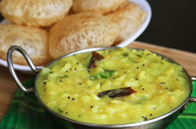 Poori masala puri bhaji recipe potato masala curry
