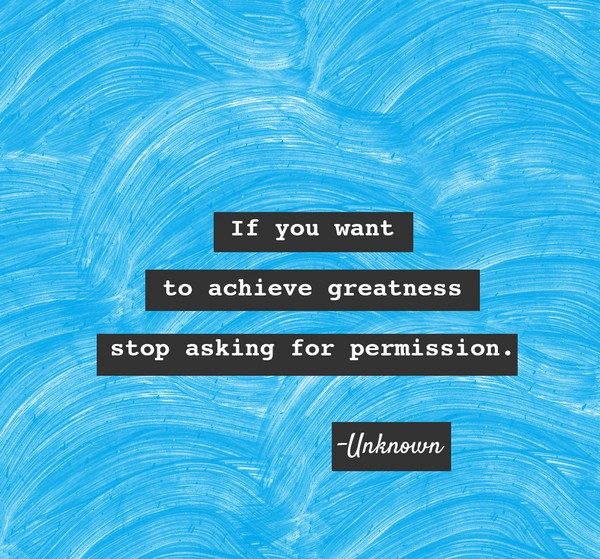 If you want to achieve greatness positive morning quotes