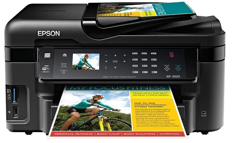 Epson WorkForce WF-3520 Driver Downloads Free