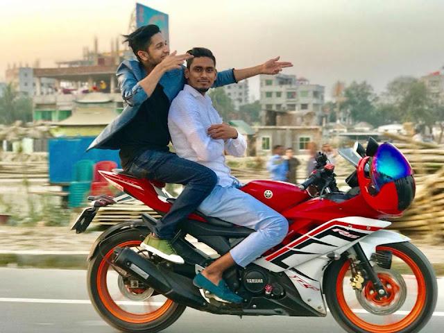 Tawhid Afridi Bike
