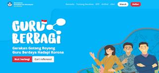 Portal Guru Berbagi, belajar di rumah, online, gaya belajar, pendidikan