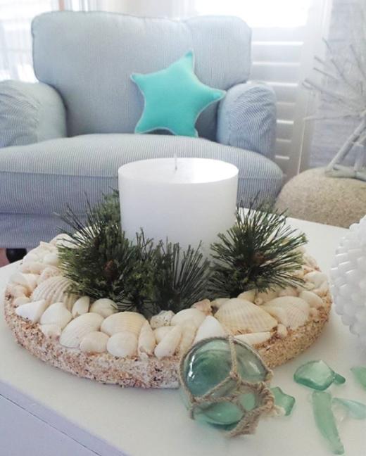 Christmas Tabletop Wreath