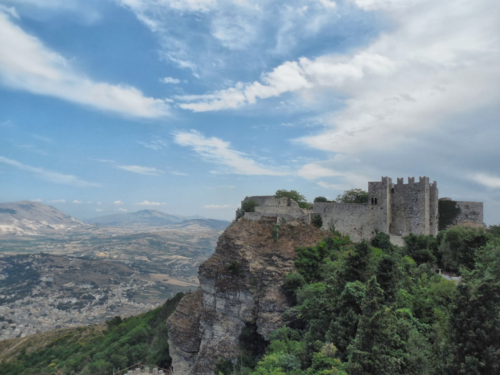 The Castle of Venus, Erice, Trapani, Sicily