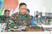 Danrem 162/WB Paparkan Rencana Bantuan Pengamanan Kepada Pangdam IX/Udayana
