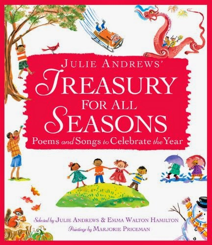 Treasury for All Seasons, part of children's book review list about fall