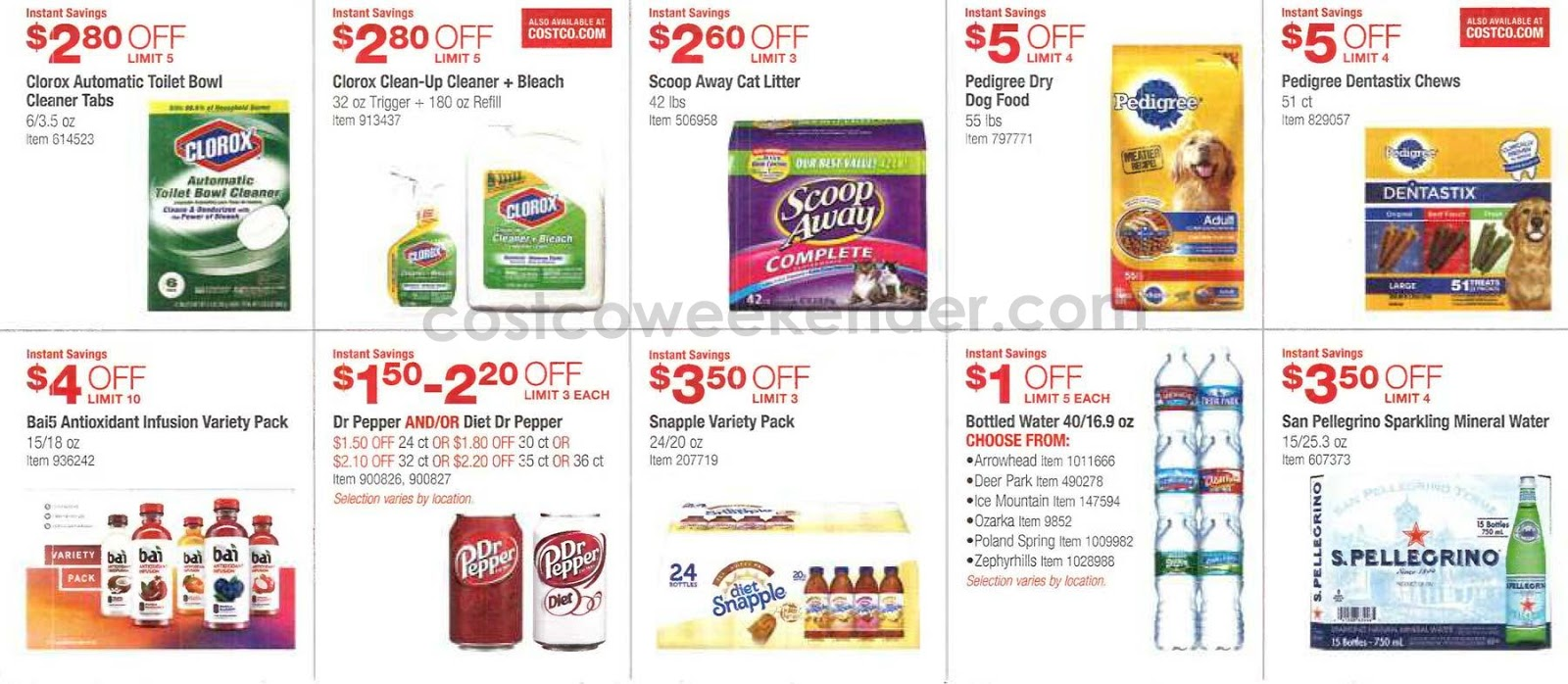 Current Costco Coupon Book March 2016 Costco Weekender