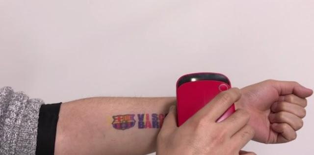 Tatuajes en tres segundos-TuParadaDigital