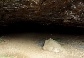 Interior da Caverna Indígena, em Veranópolis