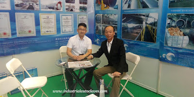 Vertical Sterilizer was Showed up in Indonesia Expo (2)