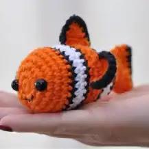 Amigurumi Nemo a Crochet
