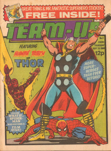 Team-Up #3, Thor and the Human Torch