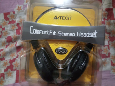 A4Tech HS-30 headphone with speaker