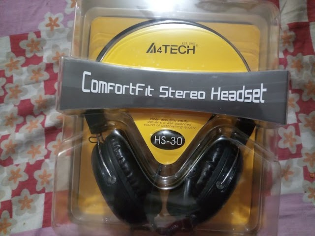 A4Tech HS-30 headphone with speaker | Features | Specifications