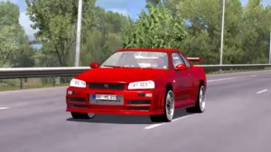 Nissan GTR car mod