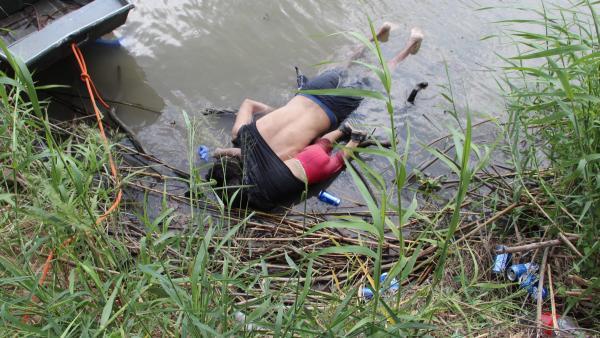 MUNDO: Papa Francisco habló acerca de la fotografía de padre y su hija se ahogaron tras cruzar el rio Bravo en EE.UU.