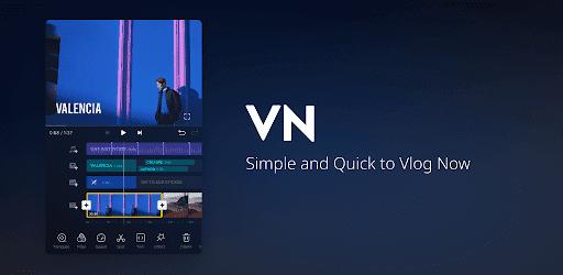 تحميل تطبيق VN Video Editor Maker  لعمل المونتاج على الصور والفيديوهات بدون علامة مائية