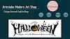 Arty Halloween Ideas to Shop 2021 |  Artmiabo