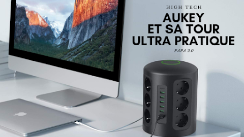 UN HUB MULTIPRISE TRÈS INTELLO ! - AUKEY