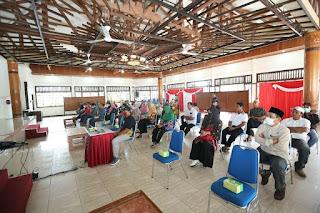Rapat Pembentukan RT Siaga Covid 19 Tahap Pertama Bersama Ketua RT pada Kecamatan Tarakan Timur - Tarakan Info