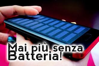 Come avere Tablet e smartphone sempre carichi, senza energia elettrica!