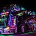 Tailandia, seguridad Scania cuando la fiesta es abordo de un bus