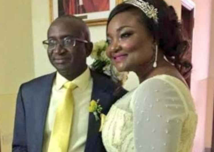 Sen. Victor Ndoma-Egba and wife