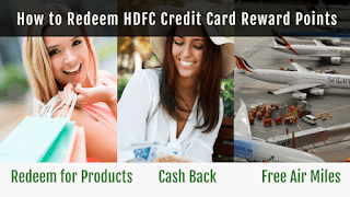 How to Redeem HDFC Credit Card Reward Points