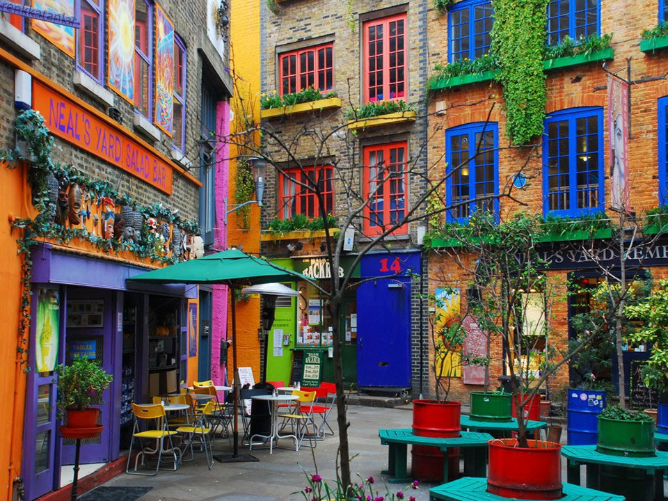 Neal S Yard Pride Kitchen London United Kingdom