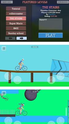 Flippy Wheels, lleva la bici a la meta antes de morir