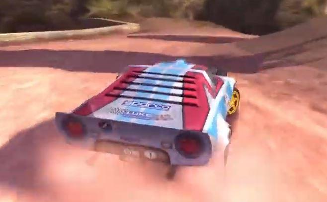 Lancia Stratos Colin McRae Rally