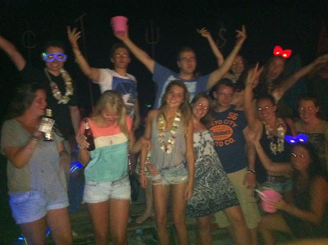 La fiesta en Haad Rin Beach