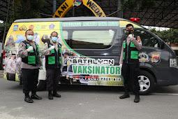 Mobil Batalyon Vaksinator Polda NTB Siap Bergerak Lawan Covid-19
