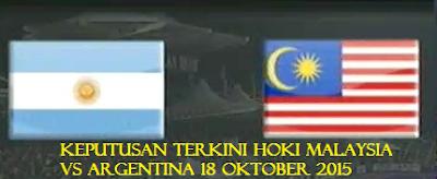 live Hoki Malaysia Vs Argentina