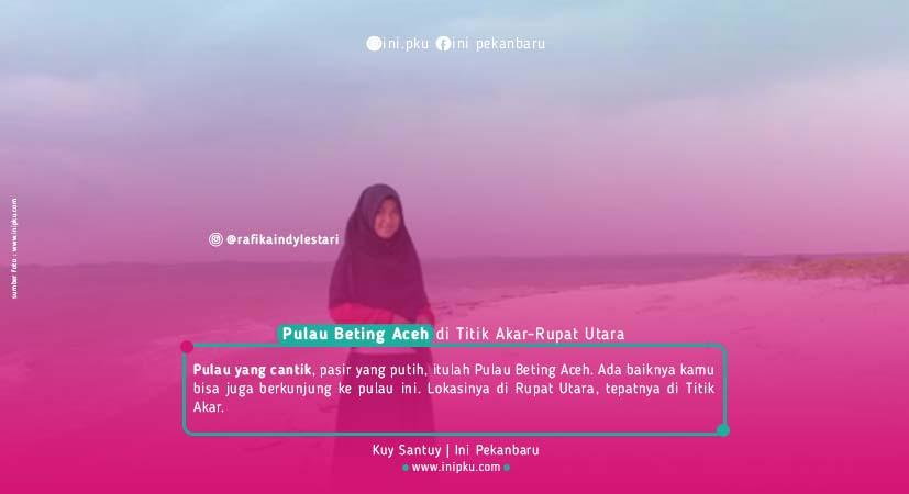 Kuy Liburan, Ini 10 Destinasi Objek Wisata Pantai di Riau