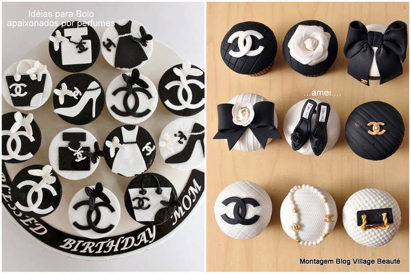 cupcake chanel dica no village beauté