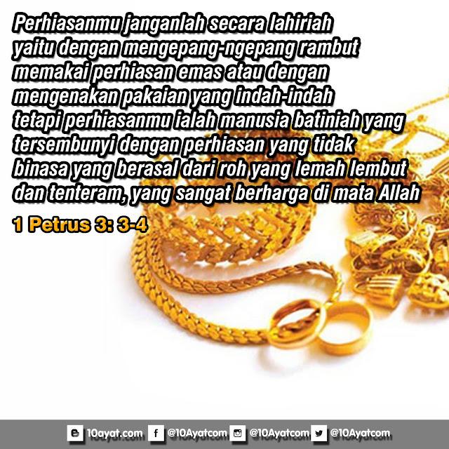 1 Petrus 3: 3-4